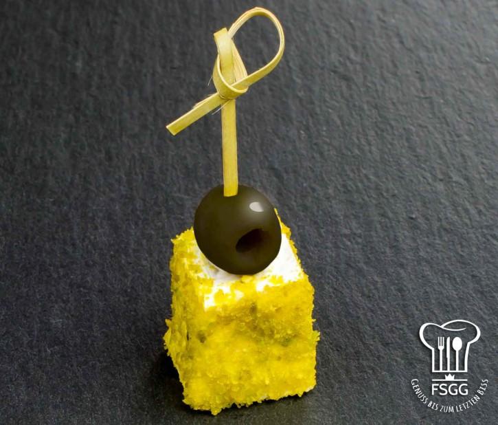 Brie-Käsespieß