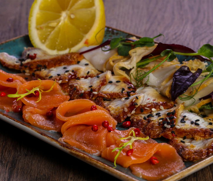 FISCH SELECTION – kaltes Buffet 4 Pers.