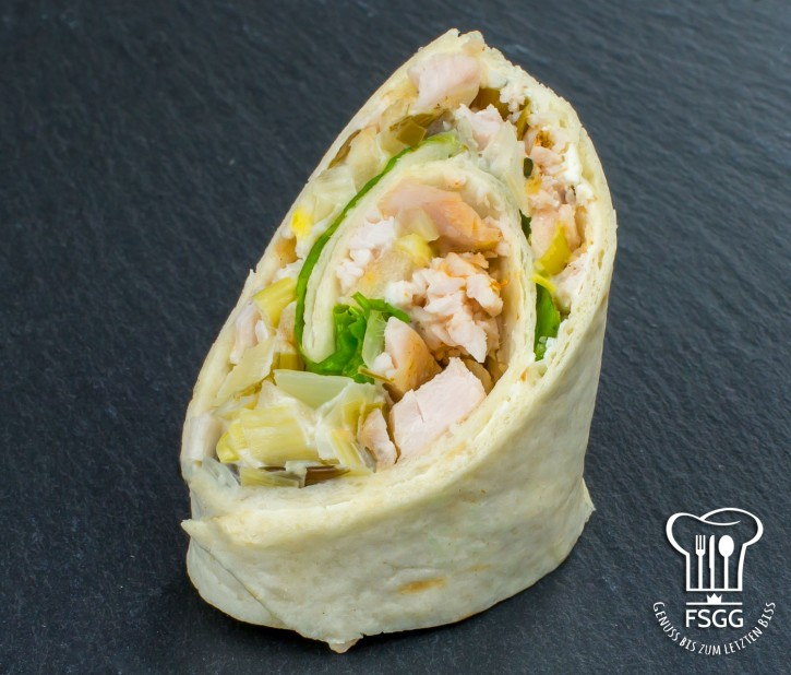 Mini-Wrap Chicken-Salad