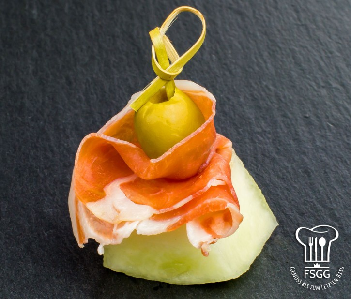 Parma/Melone-Spieß