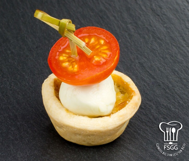 Mini-Quiche Tomate/Mozzarella