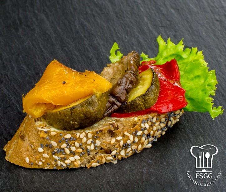 Canapé Antipasti Gemüse Rustika