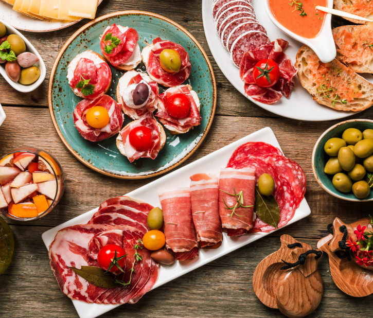 TAPAS SELECTION – kaltes Buffet 4 Pers.