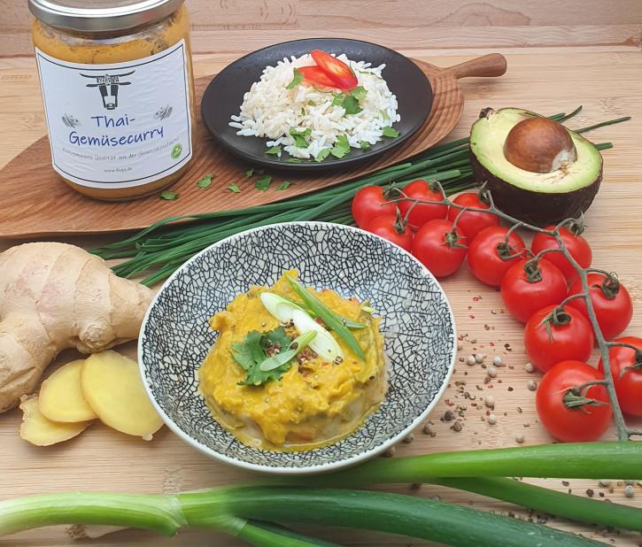 Thai-Gemüsecurry, vegan